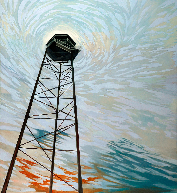 Madeleine Kelly Forewarning 2006 Oil on Canvas 190 x 172cm