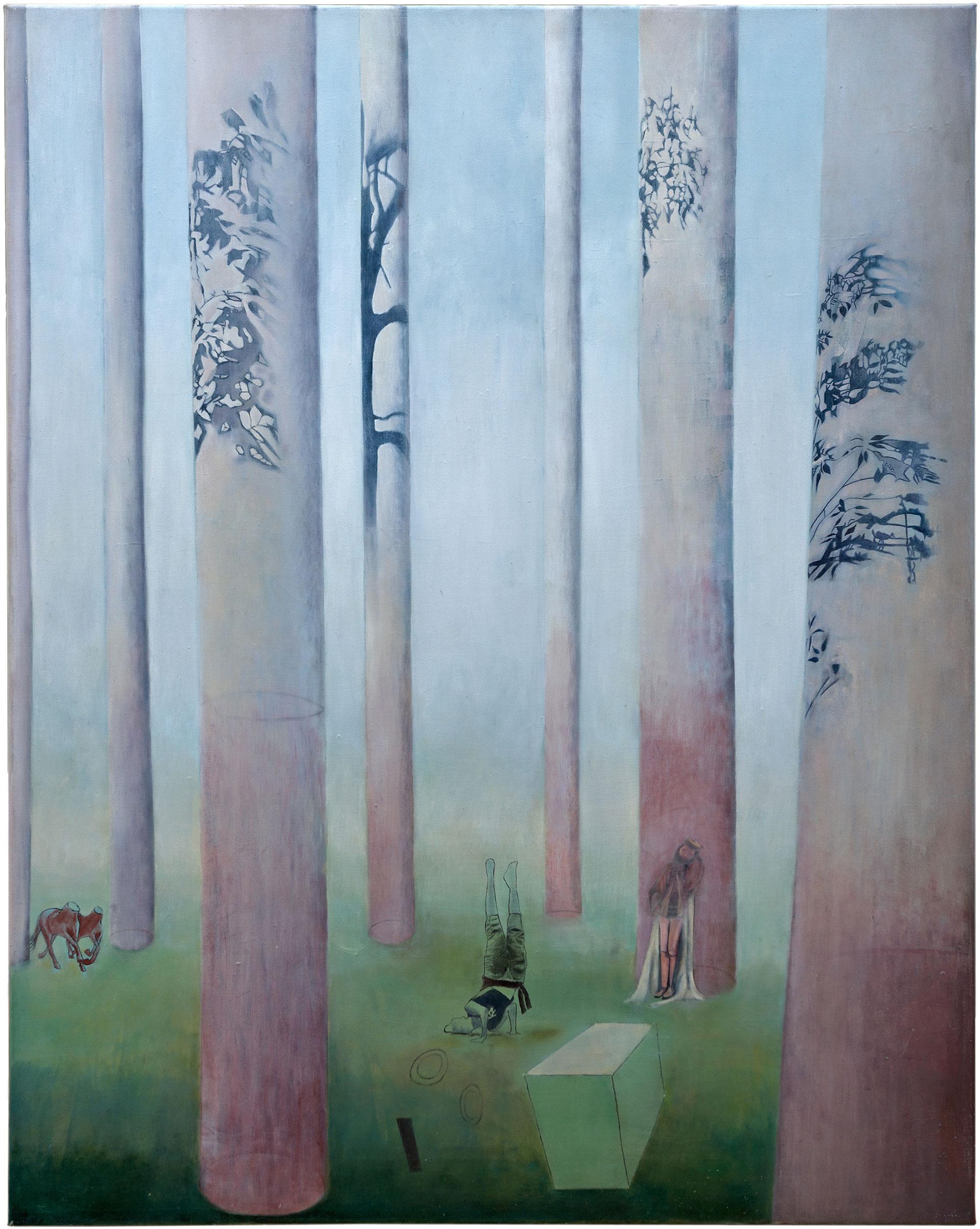 Madeleine Kelly Logic Block 2003, oil on polyester 115 x 90cm