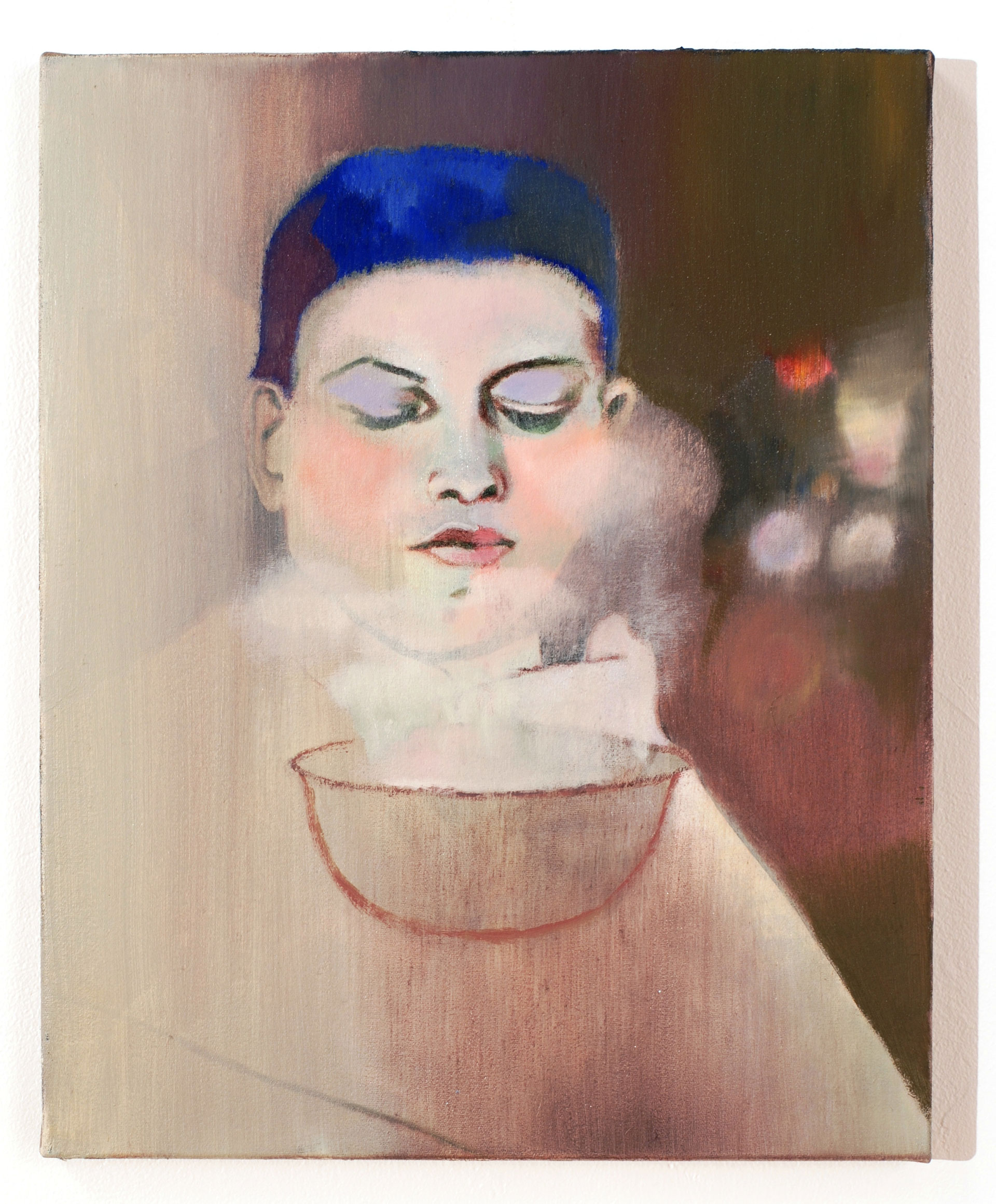 Madeleine Kelly The Boy 2008 Oil on polyester 35 x 28 cm