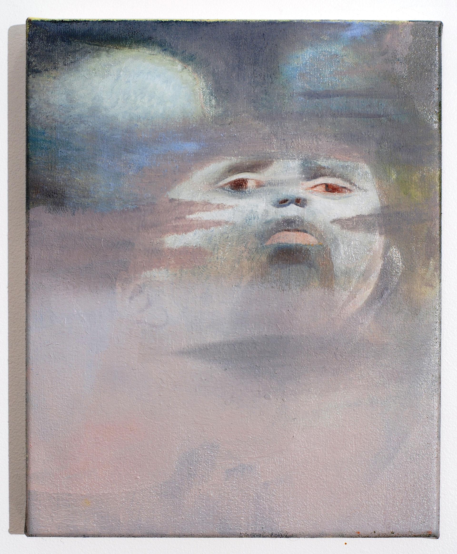 Madeleine Kelly Non-Sense 2008 Oil on polyester 25 x 20 cm
